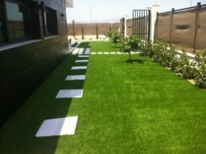 Instalación césped artificial en Murcia (Lorca)