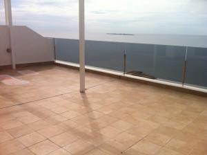 Césped artificial para terraza