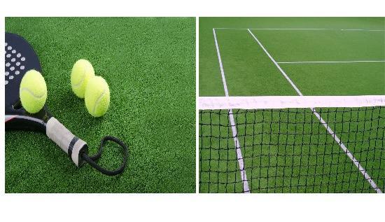El césped artificial se utiliza cada vez más en espacios deportivos