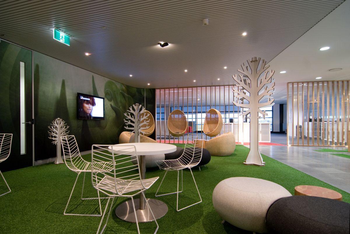 Césped artificial para interiores