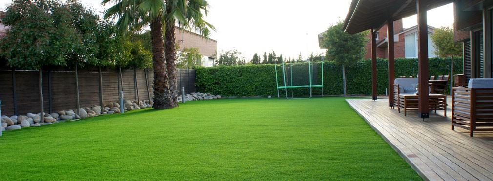 Césped artificial para jardín