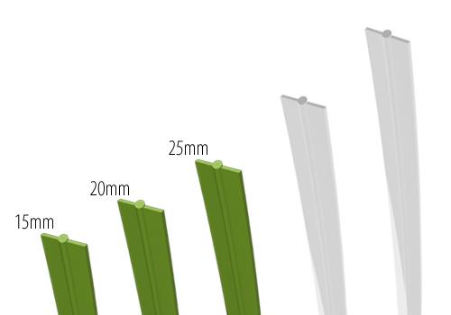 Low Fiber Artificial Grass: 20mm