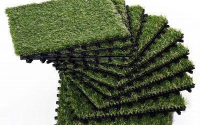Artificial grass carpets, a fun DIY