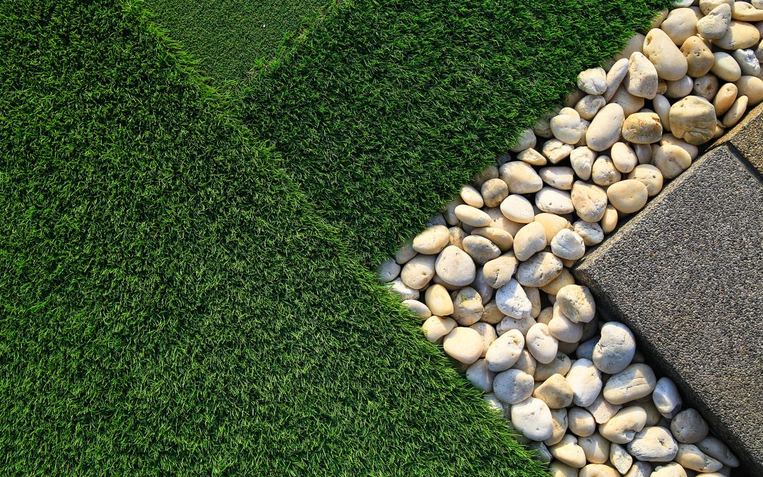 Artificial grass for plots